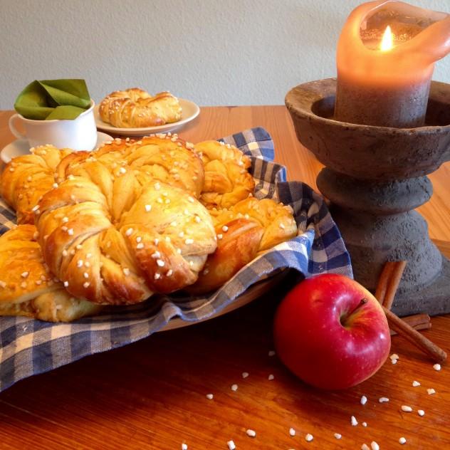 Apfel-Zimt-Kringel