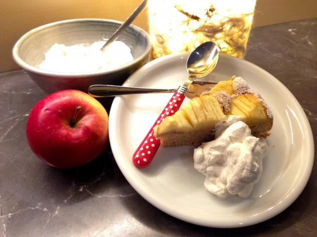 Apfelkuchenstück